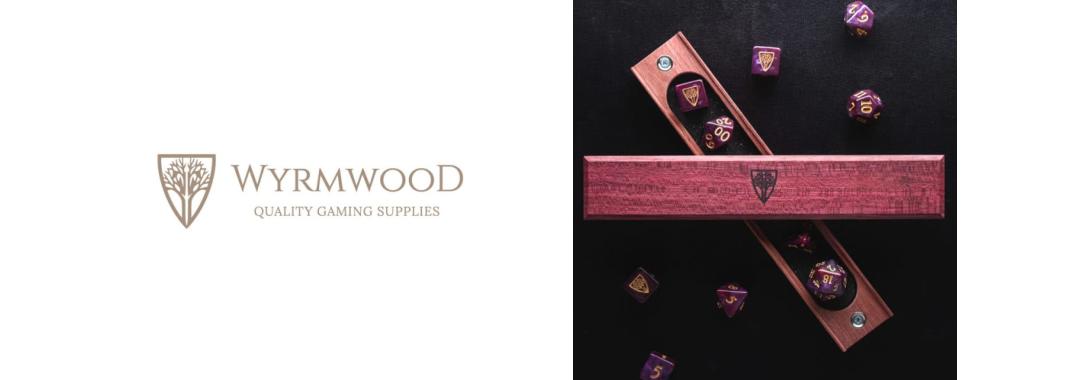 wyrmwood gaming purpleheart dice vault